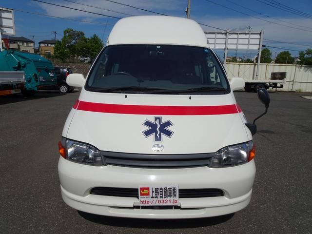 グランビア 患者輸送車 2WD 7人乗り 固定式ベッド付(5枚目)