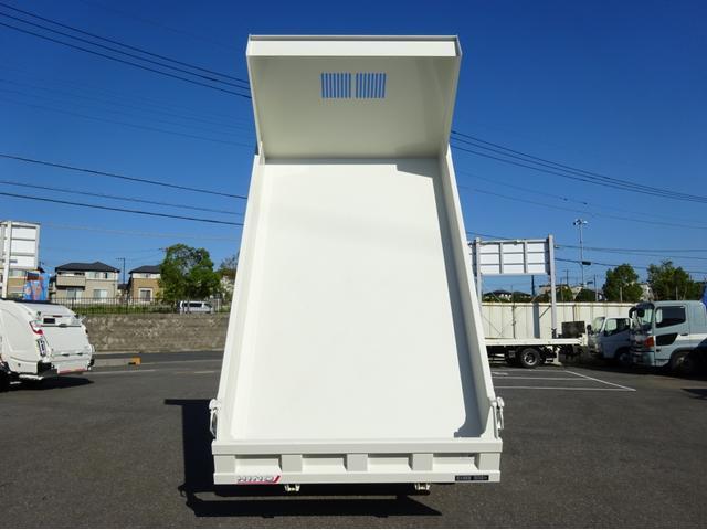 4トンダンプ 極東開発 標準幅 ベッドレス 3650kg積み(7枚目)