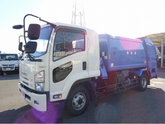 回転ダンプ式パッカー 8.4m3 増トン 4.5t積み(3枚目)