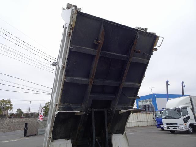 強化ダンプ 新明和工業 電動コボレーン付 2t積み(12枚目)