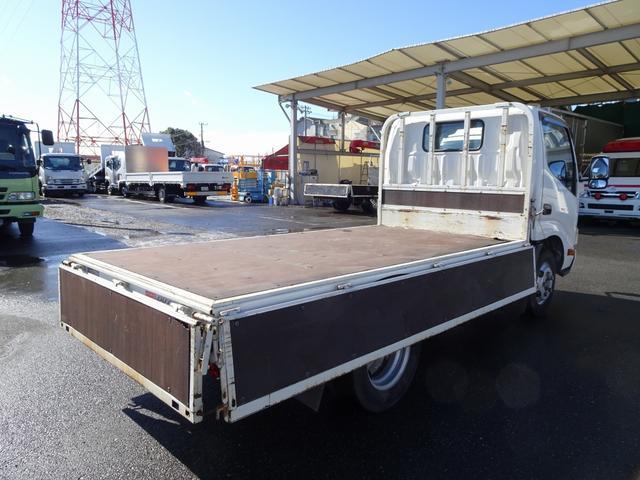 平ボディ 標準幅 10尺 4ナンバー 床板張り 2t積み(4枚目)