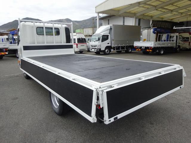 4650kg積載 カーテン式幌車 三方開き ワイド ロング(2枚目)