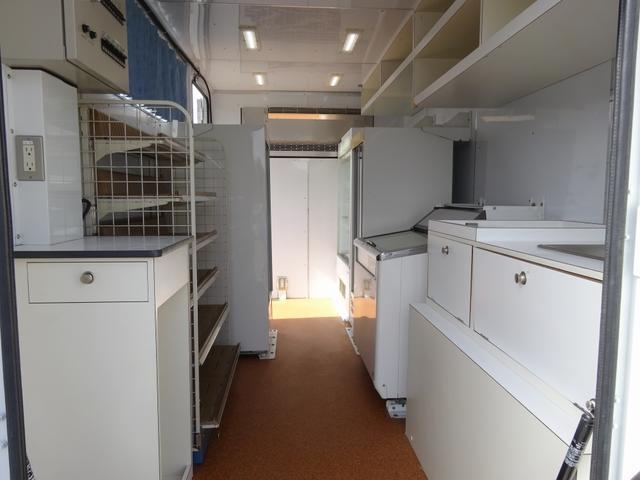 移動販売車 コンビニ 冷凍機 ガソリン発電機 0.45t積み(2枚目)
