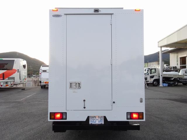 移動販売車 コンビニ 冷凍機 ガソリン発電機 0.45t積み(7枚目)