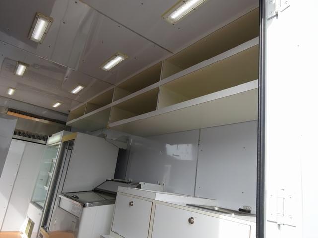 移動販売車 コンビニ 冷凍機 ガソリン発電機 0.45t積み(17枚目)