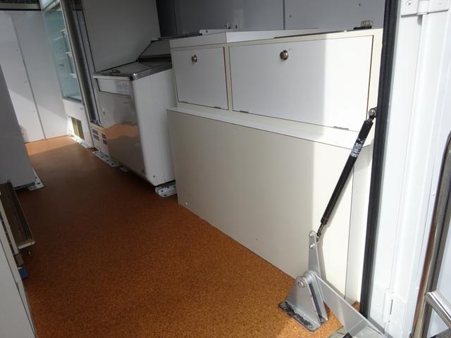 移動販売車 コンビニ 冷凍機 ガソリン発電機 0.45t積み(19枚目)