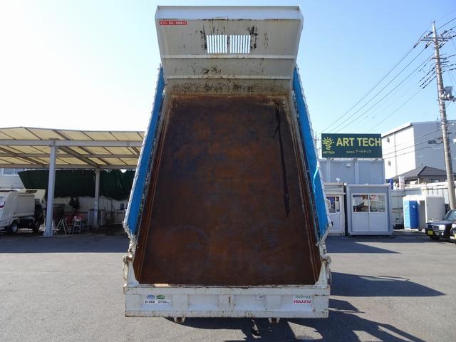 土砂ダンプ 極東開発 標準幅 ベッドレス 3750kg積み(7枚目)