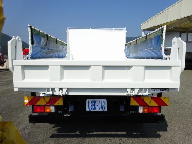 ダンプ 強化一方開 新明和 標準幅 ベッド付 3.55t積み(6枚目)