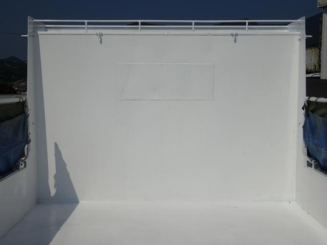 ダンプ 強化一方開 新明和 標準幅 ベッド付 3.55t積み(11枚目)