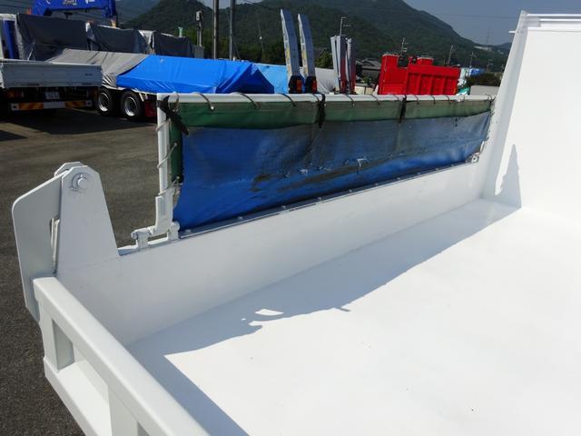 ダンプ 強化一方開 新明和 標準幅 ベッド付 3.55t積み(12枚目)