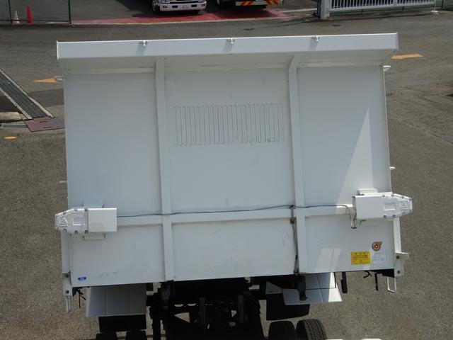 ダンプ 強化一方開 新明和 標準幅 ベッド付 3.55t積み(14枚目)
