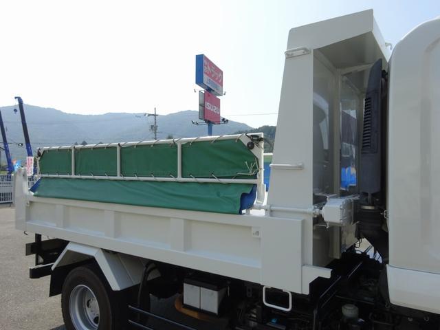 ダンプ 強化一方開 新明和 標準幅 ベッド付 3.55t積み(16枚目)