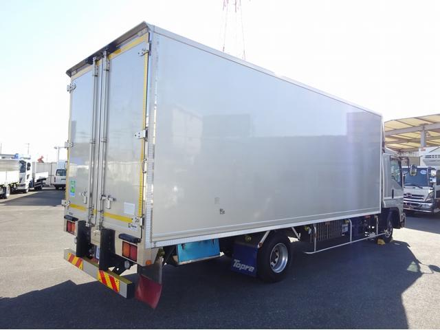 低温冷凍車 -30℃設定 左両開観音扉 リアエアサス ワイド ベッド付 2750kg積み 240馬力(4枚目)