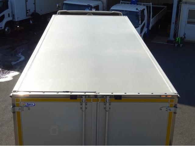 低温冷凍車 -30℃設定 左両開観音扉 リアエアサス ワイド ベッド付 2750kg積み 240馬力(28枚目)