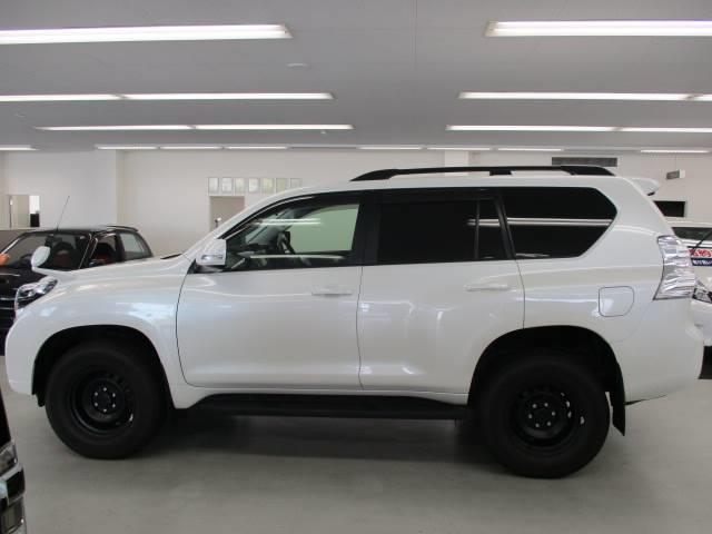 トヨタ ランドクルーザープラド TX サンルーフ LEDヘッドライト 4WD 1オーナー