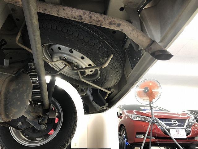 PC 4WD ハイルーフ 5速マニュアル ユーザー買取 キーレス ETC 社外アルミ 2インチリフトUP(ノーマルサスペンション有り) ルーフキャリア エアコン パワステ パワーウィンドウ(47枚目)