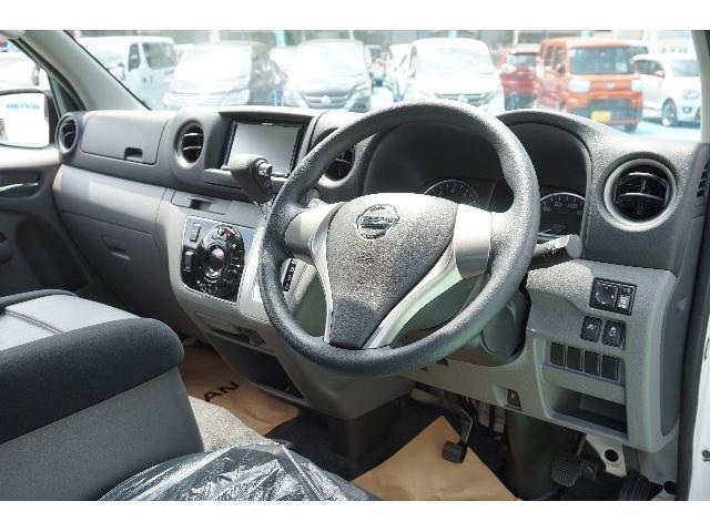 日産 NV350キャラバンバン ロングプレミアムGX ローダウン 新品ナビ フルセグ LED