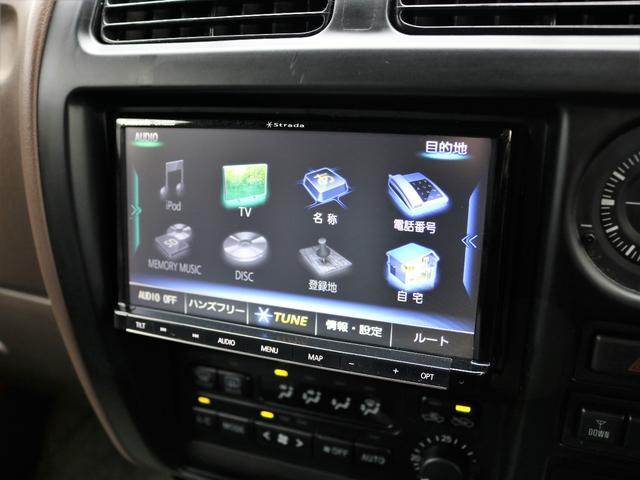 トヨタ ランドクルーザープラド 3.4TX 丸目ナロークラシック 新品ナビ サンルーフ付き