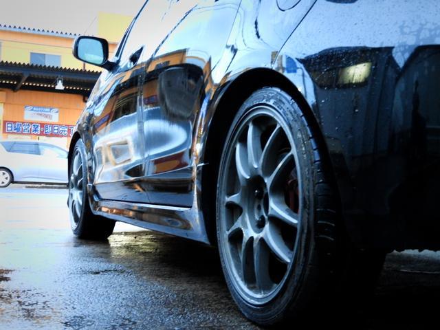 トヨタ ヴィッツ RS ワーク17インチアルミ トラストマフラー ETC