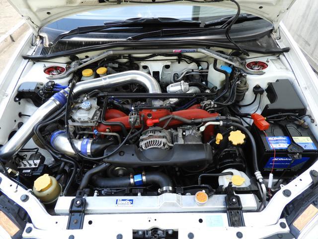 スバル インプレッサ WRX STi ブーストUP仕様 前置IC 車高調 マフラー