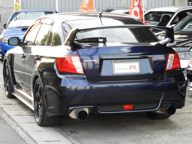 WRX STi HKSマフラー クスコ車高調 社外アルミ(5枚目)
