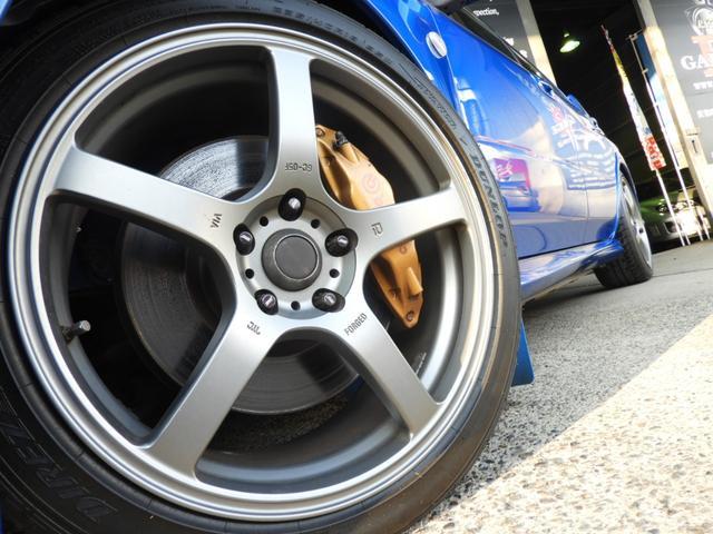 WRX STi 車高調 マフラー RECARO HDDナビ(6枚目)