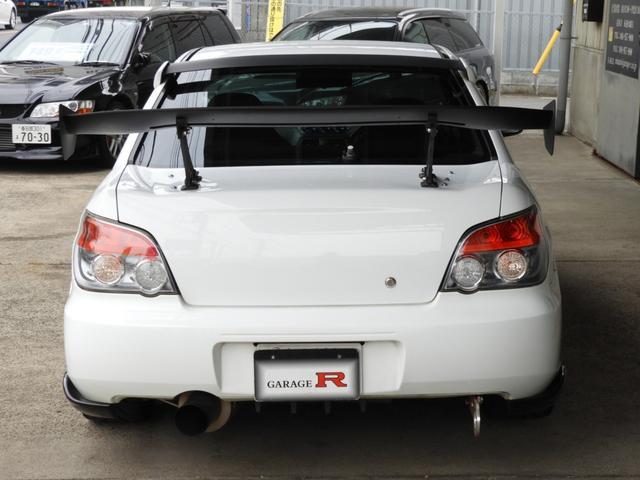 WRX STi 車高調エアクリマフラ-Defi追加メーター(8枚目)