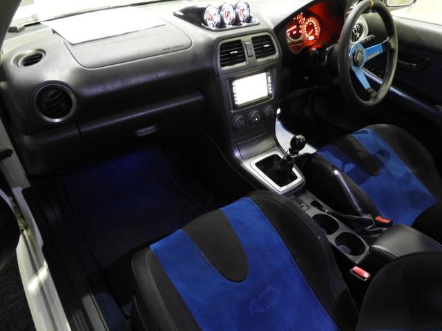 WRX STi 車高調エアクリマフラ-Defi追加メーター(12枚目)