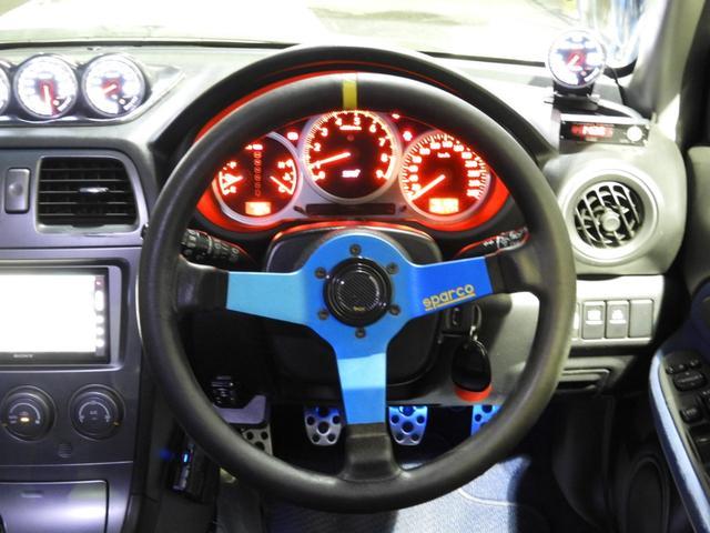 WRX STi 車高調エアクリマフラ-Defi追加メーター(18枚目)