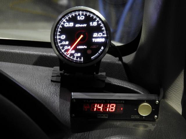 WRX STi 車高調エアクリマフラ-Defi追加メーター(20枚目)