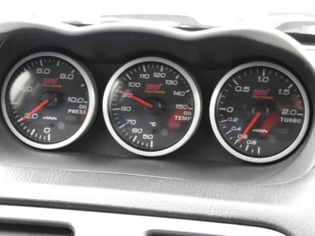WRX STi 車高調 Defi3連メーター SDナビ(19枚目)