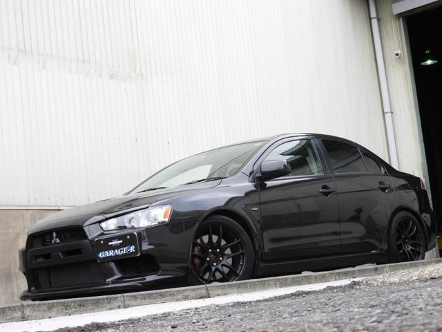 GSRエボリューションX エアクリ HKS車高調 マフラー(2枚目)