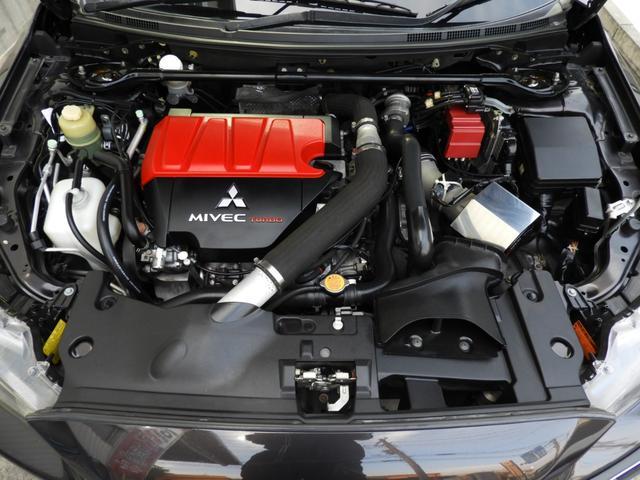 GSRエボリューションX エアクリ HKS車高調 マフラー(13枚目)