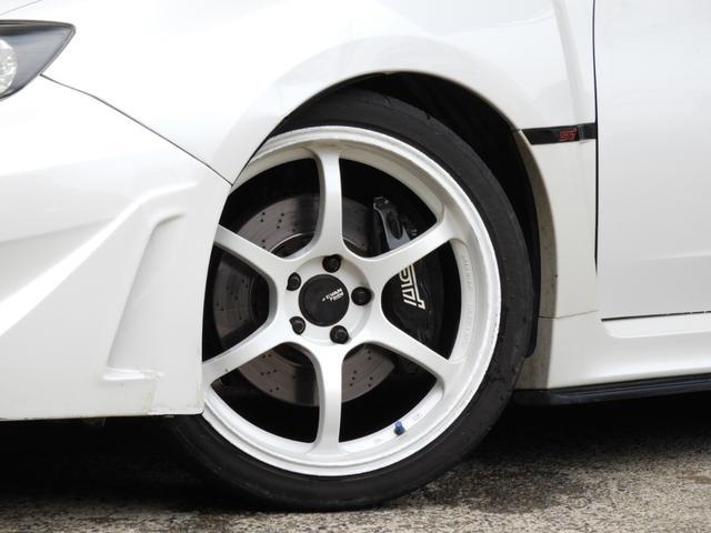 WRX STI Aライン DAMDエアロ 車高調 マフラー(11枚目)