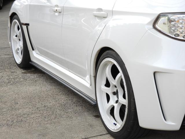 WRX STI Aライン DAMDエアロ 車高調 マフラー(12枚目)