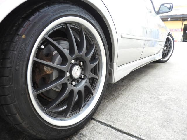 RS200 後期型 タイミングベルト交換済 マフラー 車高調 Work18インチ TRD製タワーバー イクリプスナビ HID 地デジTV ETC(15枚目)