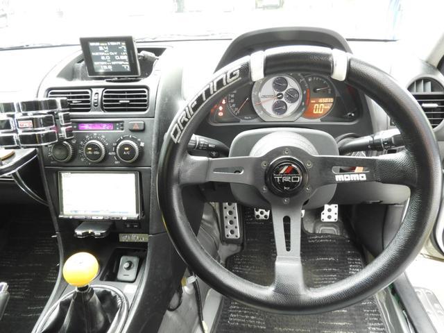 RS200 Zエディション 機械式LSD セルシオキャリパー移植 強化クラッチ エアクリ 車高調 Rデフリジット フルバケ 強化スタビ 2名乗車公認済 追加メーター HDDナビ ETC(22枚目)
