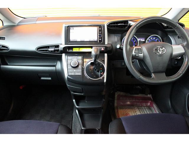 トヨタ ウィッシュ 1.8S 4WD 後期 HDDナビ Bカメラ スマートキー