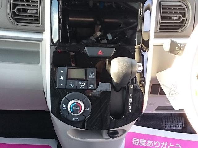 ダイハツ タント X 届出済未使用車 キーフリー ピラーレス エコアイドル