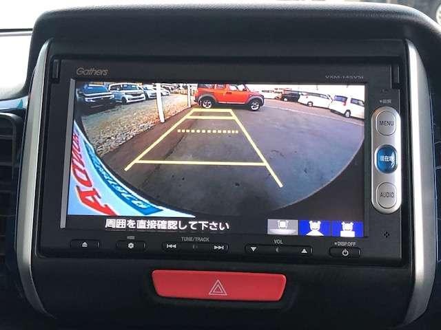 バックカメラがついております。大きな画面で後方が確認できますので狭い場所での駐車もラクラクですね!
