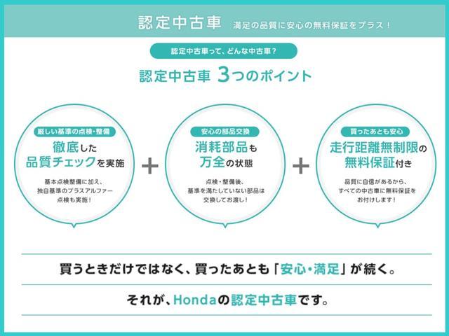 ハイブリッドRS・ホンダセンシング 元デモカー 純正ナビ 前後ドラレコ(21枚目)