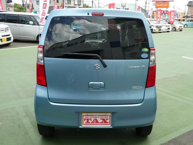 スズキ ワゴンR FX CDプレーヤー装着車 アイドリングストップ