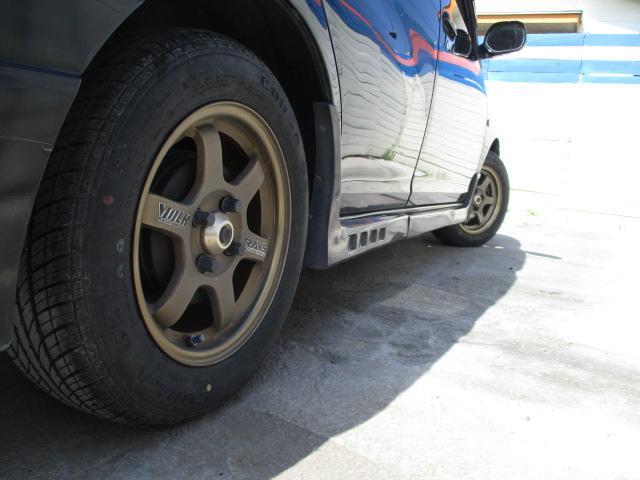 トヨタ ファンカーゴ G CD再生 キーレス 社外マフラー 14AW