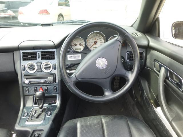 メルセデス・ベンツ M・ベンツ SLK230コンプレッサ Bカメ ETC 革 シートヒーター