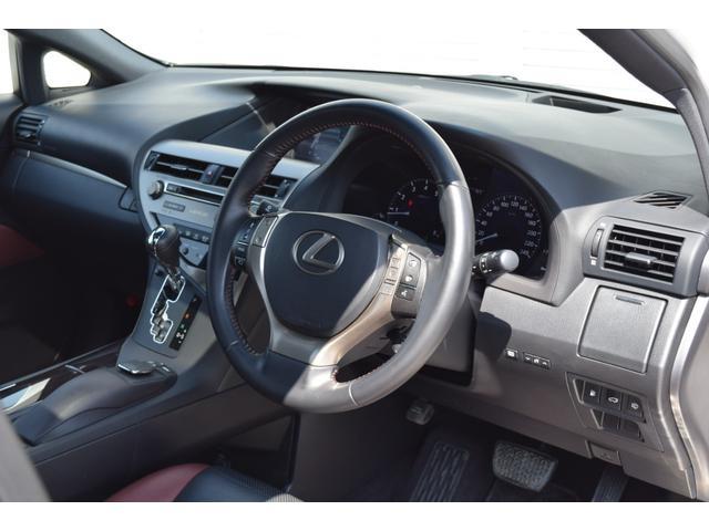 RX350ラディアント エアロスタイル 特別仕様車 SR 革シート スマートキー 純正ナビ・TV(18枚目)