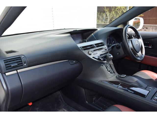 RX350ラディアント エアロスタイル 特別仕様車 SR 革シート スマートキー 純正ナビ・TV(31枚目)