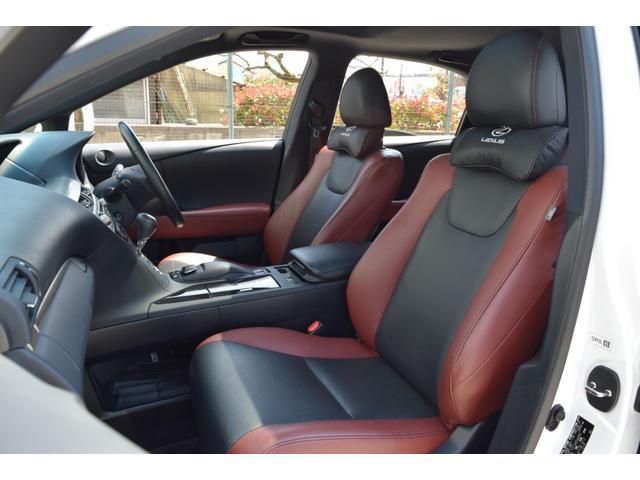 RX350ラディアント エアロスタイル 特別仕様車 SR 革シート スマートキー 純正ナビ・TV(32枚目)