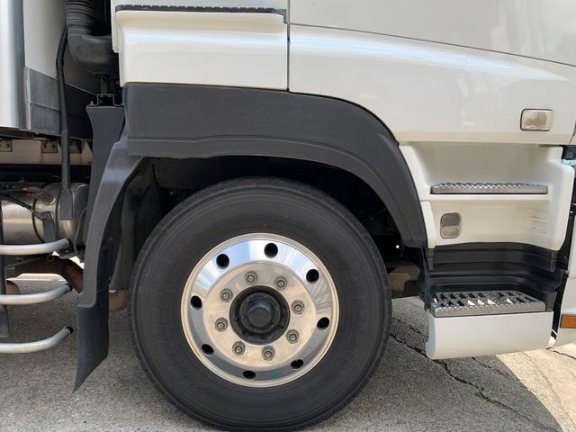 3軸高床・総輪エアサス・T型キーストン・ジョロダー冷凍車(17枚目)