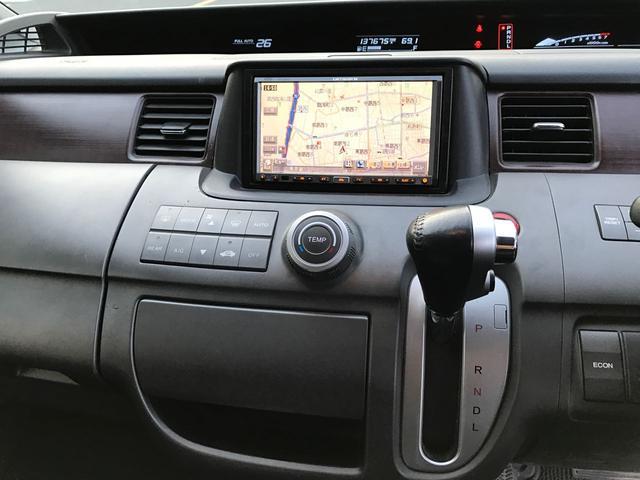 ホンダ ステップワゴン 24Z HDDナビローダウン 社外マフラー