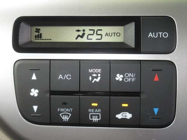 エアコンはオートエアコンでお好みの温度調整が可能。オールシーズン快適にドライブできます!楽しさ倍増ですよぉ〜♪
